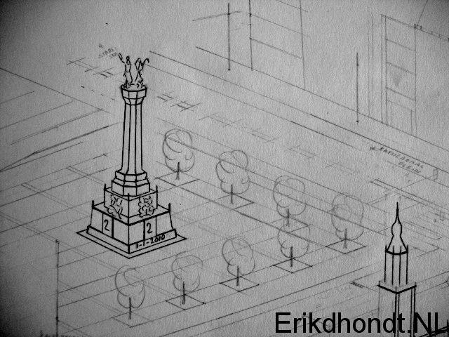 Monument 2 jaar Erikstad